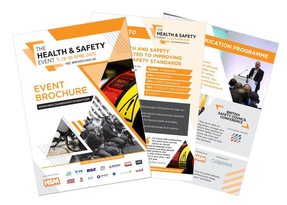 The Health and Safety Event brochure