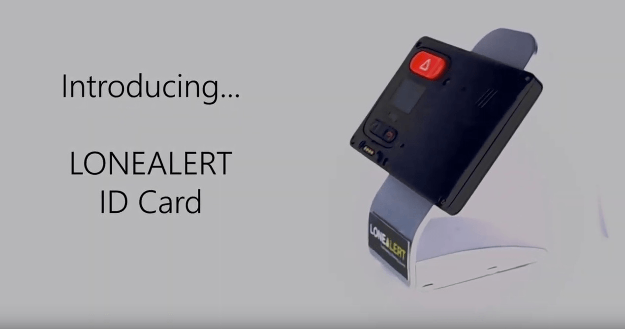 ID Card - LONEALERT Product Video