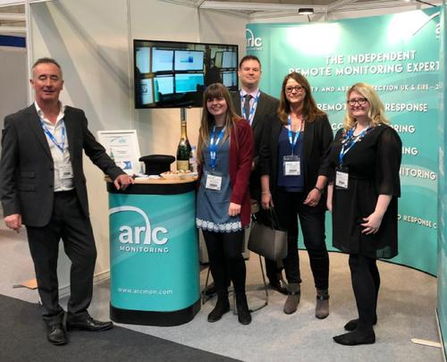 Arc Monitoring exhibits at The Security Event 2020
